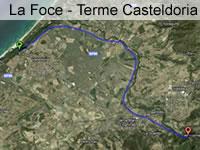 Sardinia route 1